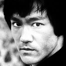 bruce lee mean face
